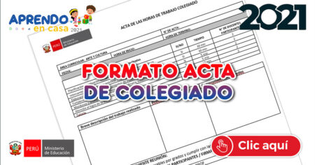 FORMATO ACTA DE COLEGIADO