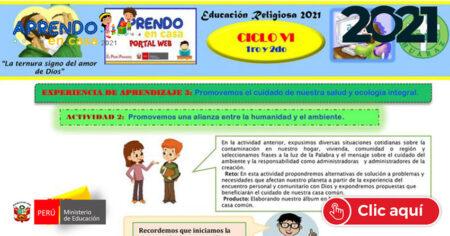 EDA III - EDUCACIÓN RELIGIOSA 1° y 2°