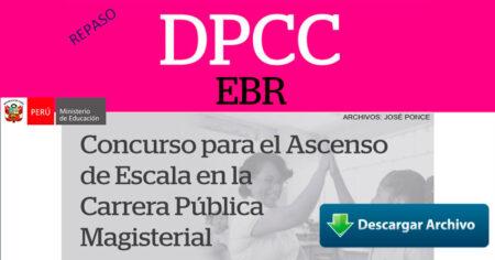 REPASO PRUEBAS DE ASCENSO DPCC