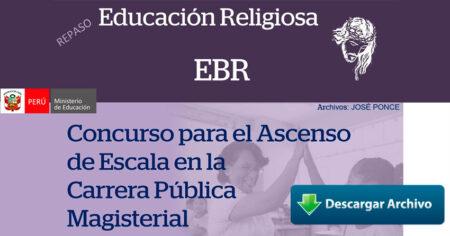 REPASO PRUEBAS DE ASCENSO RELIGIÓN