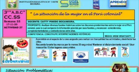 SESION CIENCIAS SOCIALES 3° SEMANA 33