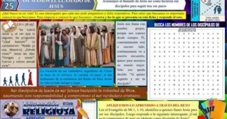 SESIÓN DE RELIGION SEMANA 32