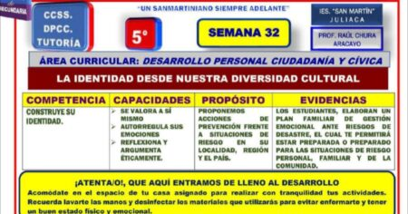 SESIÓN DPCC 5º SEMANA 32
