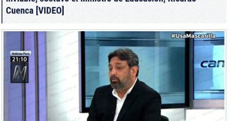 APRUEBAN PROYECTO DE LEY QUE INCREMENTA CTS PARA MAESTROS AL 100 % A LO QUE EL MINISTRO DE EDUCACION RICARDO CUENCA CONSIDERA INVIABLE
