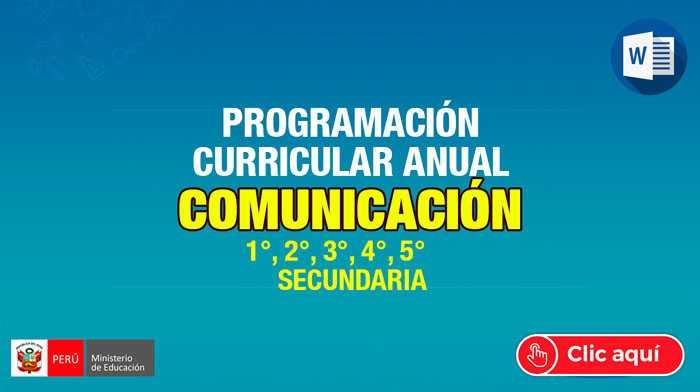 programacion-anual-Comunicacion-2020
