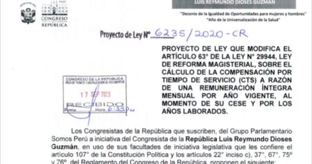 PROYECTO DE LEY DE CTS AL 100%