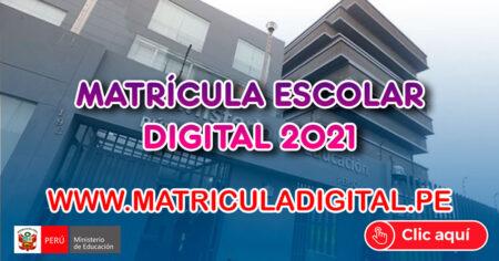 Se INICIA la Matrícula Escolar Digital 2021» Conoce el Cronograma y en qué ciudades se aplicarán
